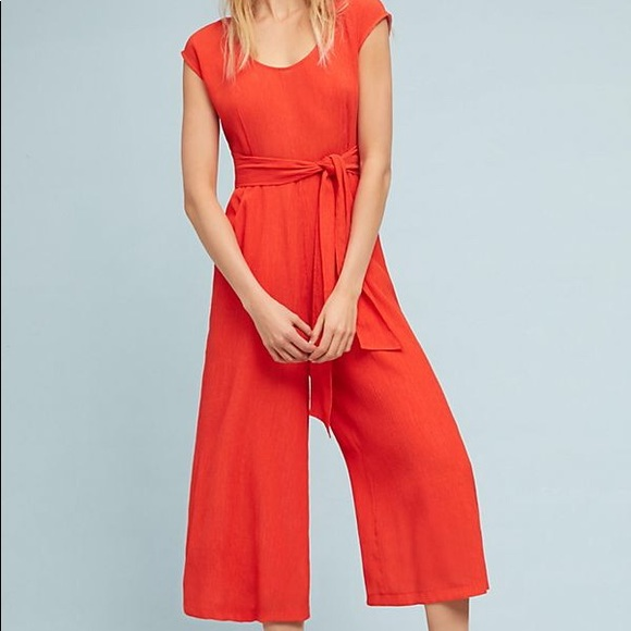 f72dbb8a00a NWT Anthropologie Abbey jumpsuit